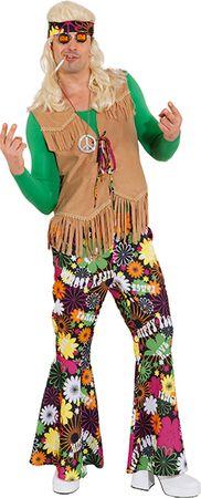 Hippie Weste beige