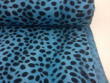 Fellimitat Leopard türkis