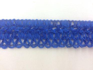 Häkelborte blau