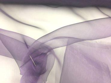 Organza dunkel-flieder