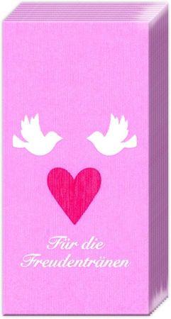 10 Taschentücher Freudentränen
