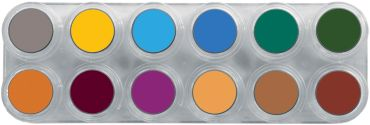 Water Make-up Palette 12 B