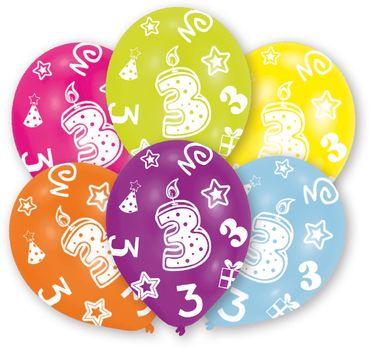 6 Zahlenballons 3