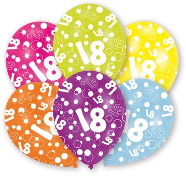 6 Ballons 18