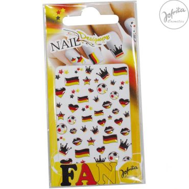 Fan Nail Designer 3D-Optik