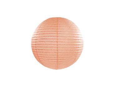 Deko-Laterne Ø 20cm apricot