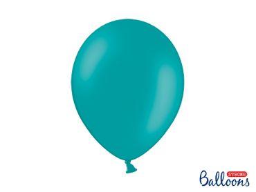 50 Pastell-Ballons dunkeltürkis – Bild 1