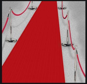 Roter Teppich 15 m – Bild 1