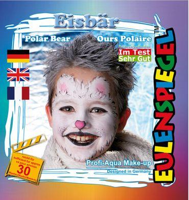 Schmink-Set Eisbär
