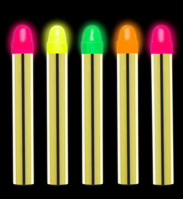 5 Neon-Make-up-Stifte – Bild 2