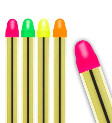5 Neon-Make-up-Stifte – Bild 3