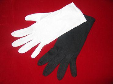 Baumwoll-Handschuhe weiß