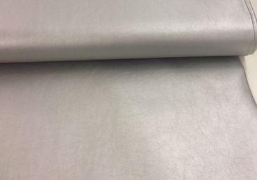 Lederimitat silber – Bild 1
