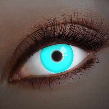 Kontaktlinse UV Deep Blue – Bild 1