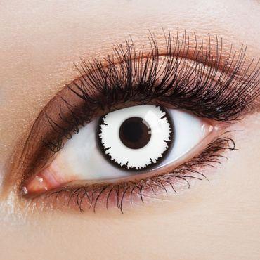 Kontaktlinse White Vampire – Bild 1
