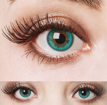 Kontaktlinse Aquamarine – Bild 3