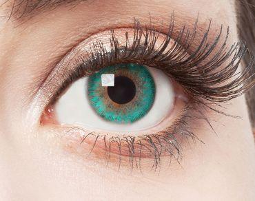 Kontaktlinse Aquamarine – Bild 1
