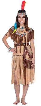 Cherokee Indianerin Kleid