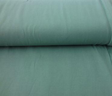 Baumwoll-Jersey dunkles mintgrün