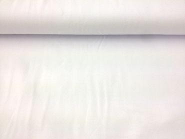 Baumwoll-Jersey weiß