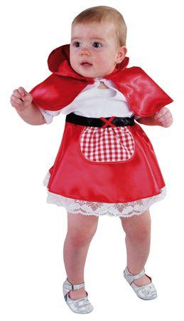 Baby Rotkäppchen-Kleid