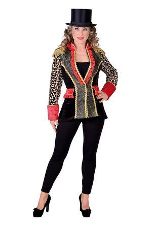 Mantel Leopard/Brokat – Bild 1