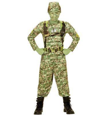 Power-Soldier-Anzug mit Helm – Bild 1