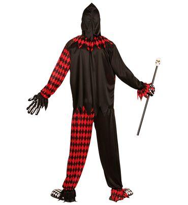 Böser Hofnarr-Anzug Horror-Clown – Bild 3