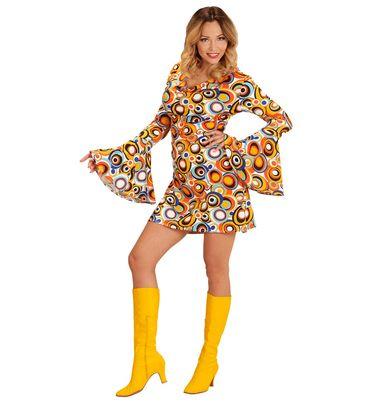 Groovy 70's Kleid Bubbles – Bild 1