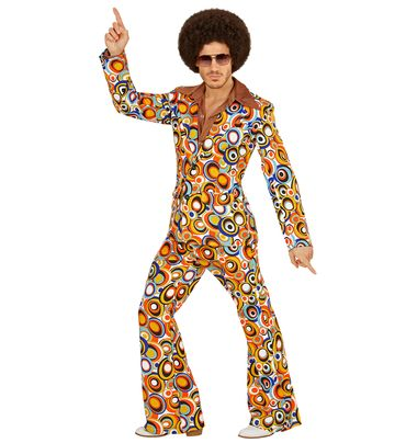 Groovy 70's Anzug Bubbles – Bild 1