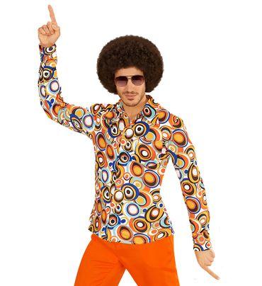 Groovy 70's Hemd Bubbles – Bild 1