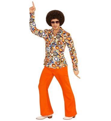 Groovy 70's Hemd Bubbles – Bild 2