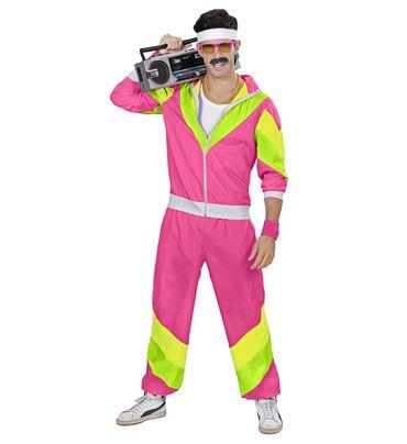 80er Jahre Trainingsanzug pink – Bild 4