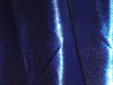 Folien-Jersey uni blau