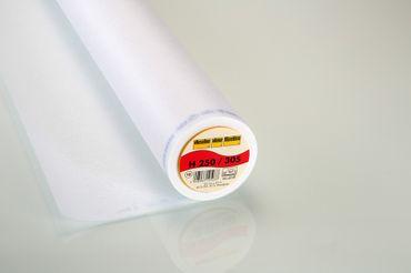 Vlieseline Bügeleinlage H 250 weiß
