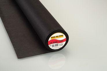 Vlieseline Bügeleinlage H 250 schwarz