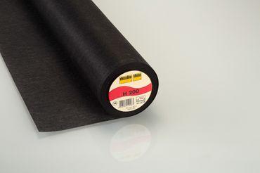 Vlieseline Bügeleinlage H 200 schwarz