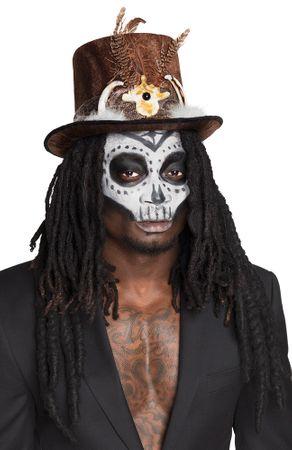 Voodoo-Hut mit Haaren – Bild 2