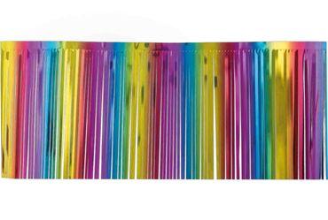 Fransengirlande regenbogen 4m x 50 cm