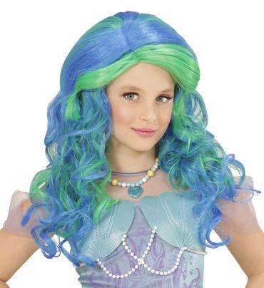 Kinder-Perücke Meerjungfrau