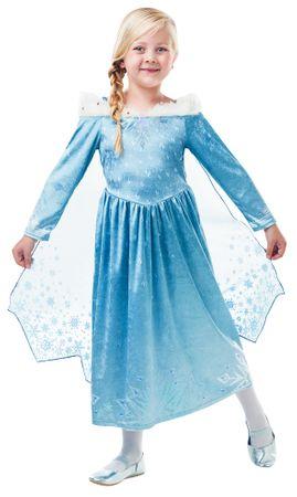 Elsa Frozen Deluxe Kleid – Bild 1
