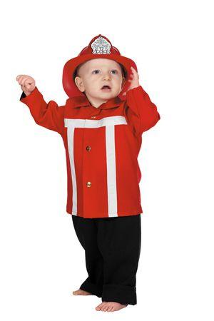 Feuerwehr-Anzug Baby – Bild 1
