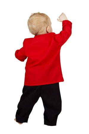Feuerwehr-Anzug Baby – Bild 2