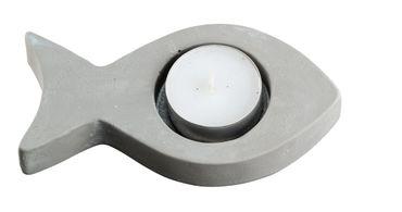Teelichthalter Fisch Zement