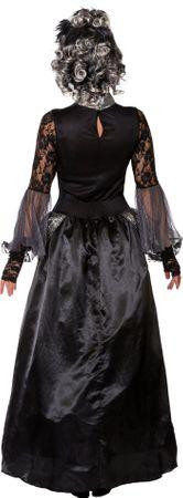 Halloween Königin-Kleid mit Reifrock – Bild 3
