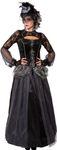 Halloween Königin-Kleid mit Reifrock 001