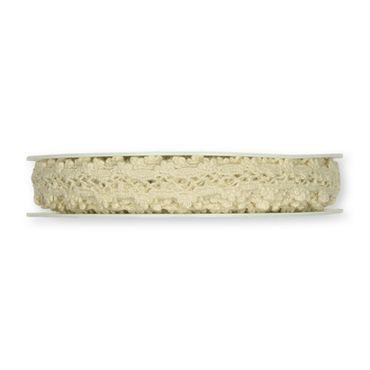 Häkelspitze Baumwolle 7m creme – Bild 2