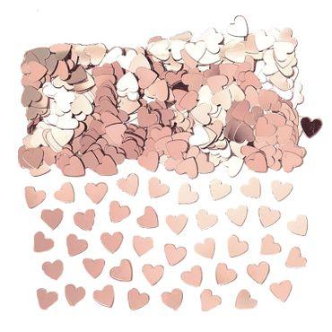 Folienkonfetti Sparkle Hearts rosegold