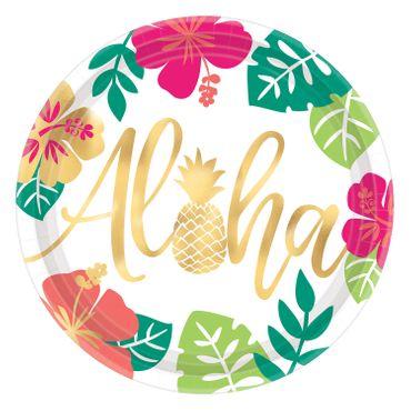 8 Partyteller Aloha