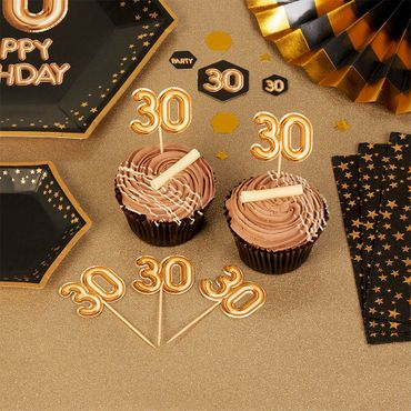20 Cupcake-Picker 30 gold